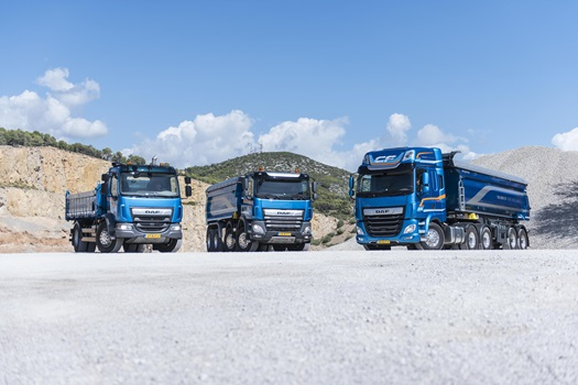 DAF CF and LF construction